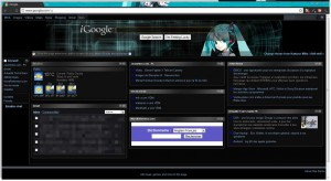Another iGoogle dark theme